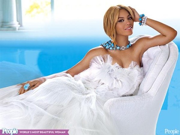 beyonce most beautiful woman